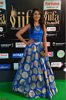 Madhu Shalini Looks Super Cute Slim trim Blue Choli Ghagra IIFA Utsavam Awards 14.JPG