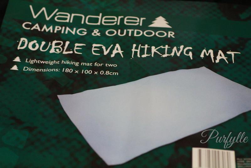 EVA foam camping mat I used