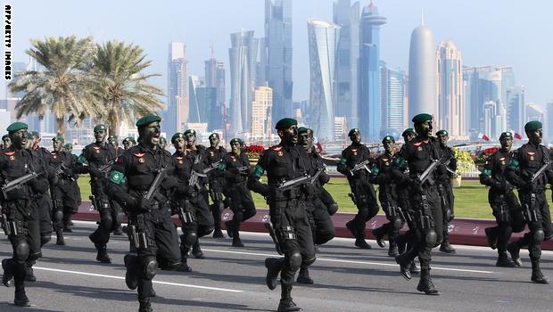 قطر تسحب قواتها من اريتريا بعد قيام الأخيرة بقطع العلاقات مع قطر