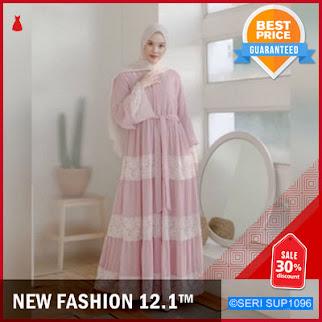 SUP1096G19 Gamis Deba Brokat Kebaya Dress Wolfis BMGShop