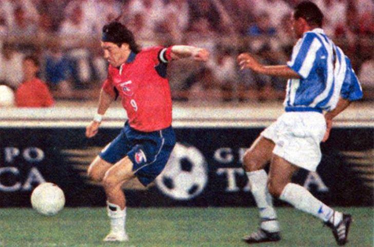 Honduras y Chile en partido amistoso, 21 de marzo de 2001