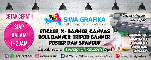 Jasa Digital Printing Murah di Rawamangun Jakarta Timur