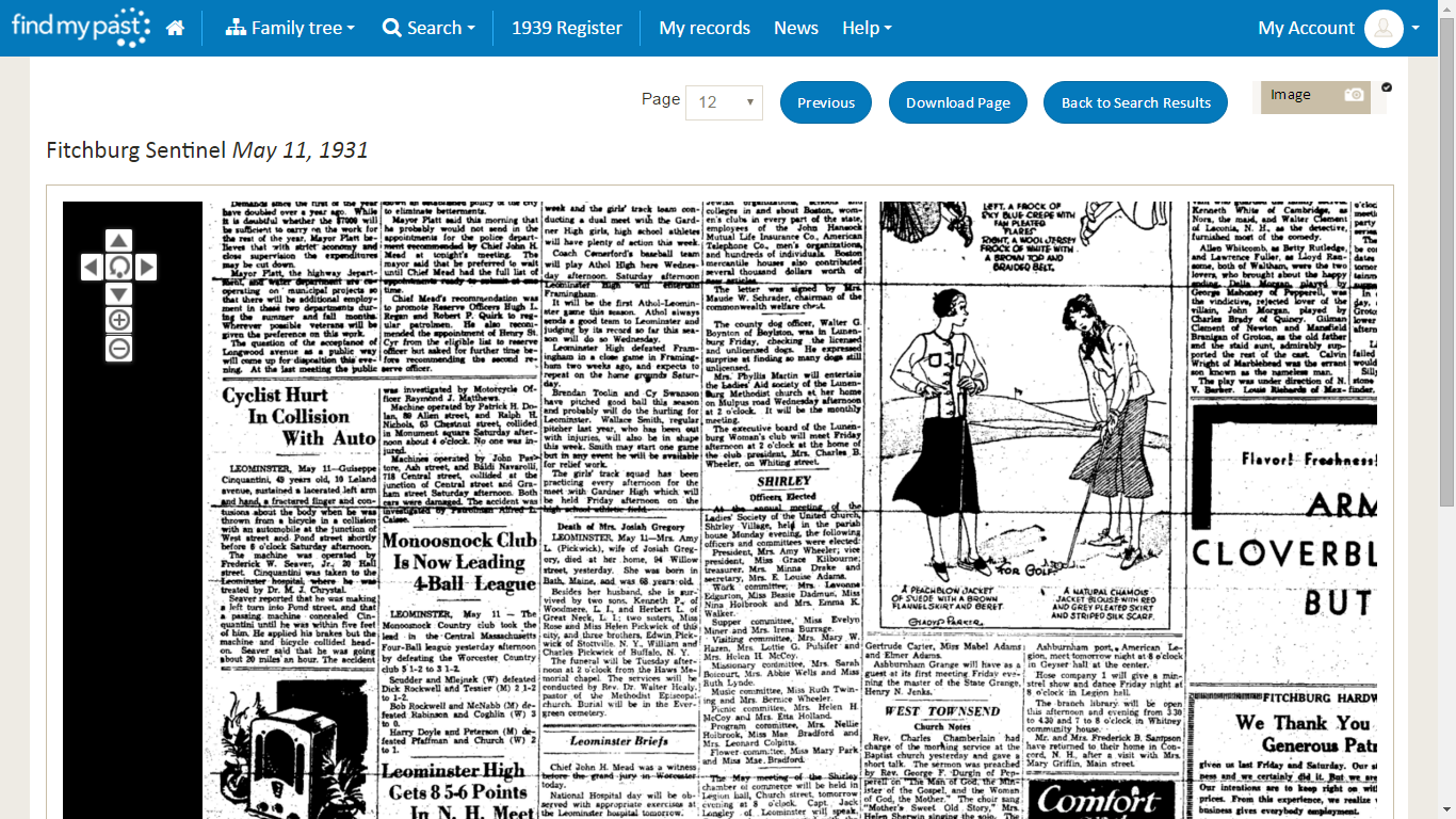 Genea-Musings: Searching Newspaper Records on Findmypast