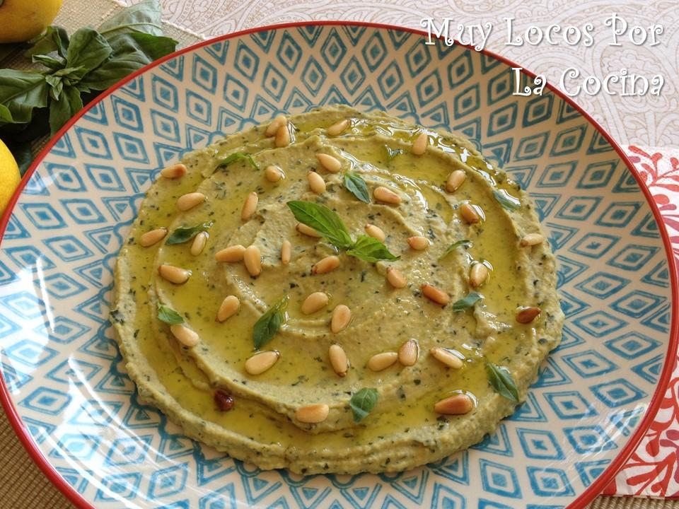 Hummus de Albahaca