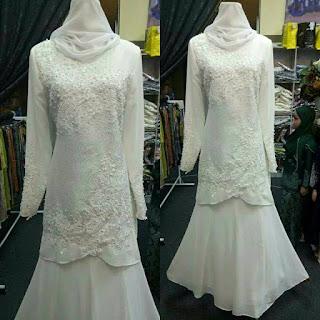 baju songket pengantin murah