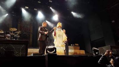 Resultado de imagem para Ghost apresenta a nova encarnação de seu vocalista