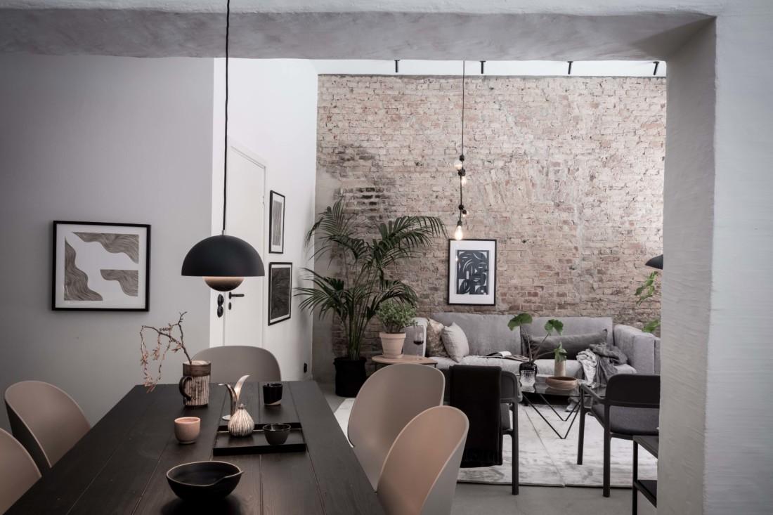 Design for love la casa con le pareti di mattoni