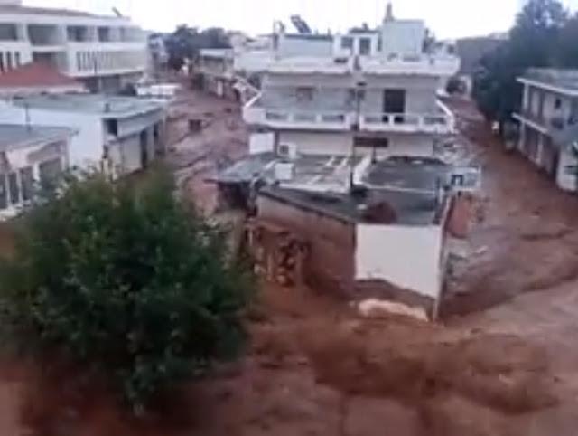 Σε απόγνωση οι κάτοικοι της Μάνδρας - Στο ίδιο έργο θεατές (βίντεο)
