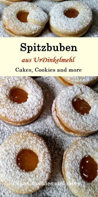 Rezept für Spitzbuben mit UrDinkelmehl - Weihnachtsgebäck mit Dinkel
