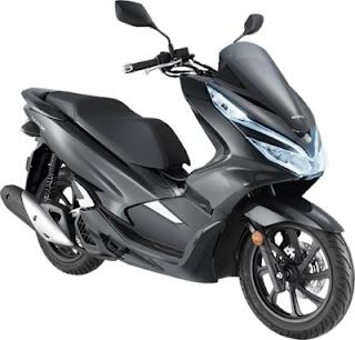 Harga Honda PCX Malaysia Warna Radiate Gray Metallic