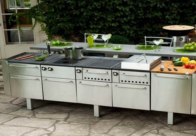 modular outdoor kitchen best appliances brand ayanahouse