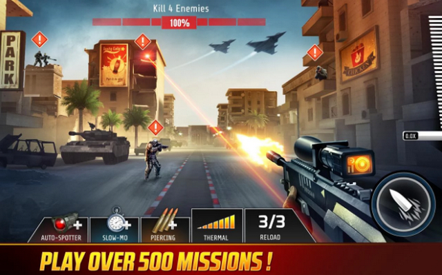 Best FPS Shooting Games for Android apk Free Download Kill Shot Bravo