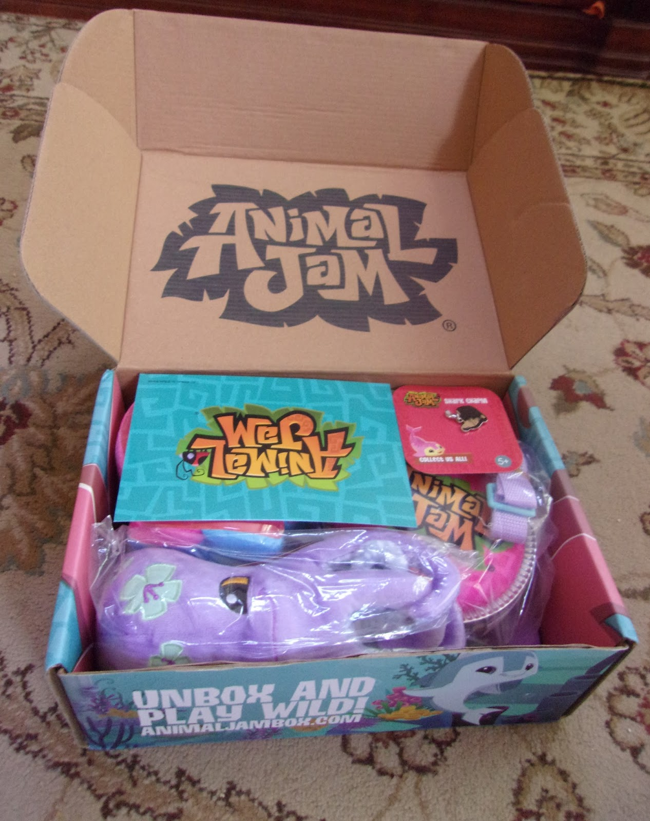 Animal Jam Budgie August 2017