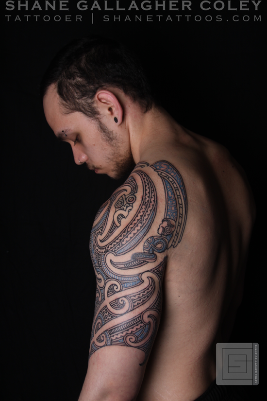 [Pretty Stuff] Maori Half Sleeve Tattoo, Ta Moko