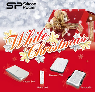 Silicon Power White Christmas Series
