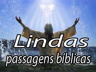 lindas e belas passagens e frases bíblicas da bíblia