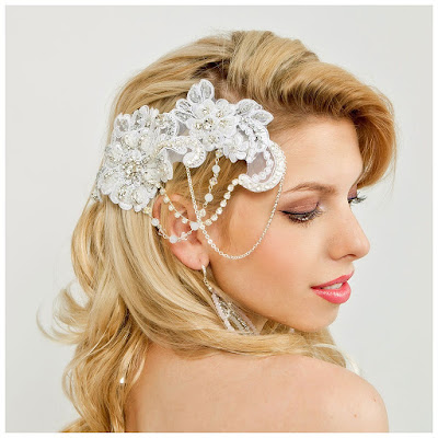 lace hairclip