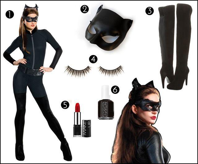 Trucco Halloween Catwoman.Vestito Catwoman Stile Di Vita Di Bellezza Carta Da Parati Moda