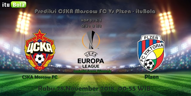 Prediksi CSKA Moscow FC Vs Plzen - ituBola