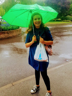 Top Ender in the Rain at the London LDS Temple Distribution Centre