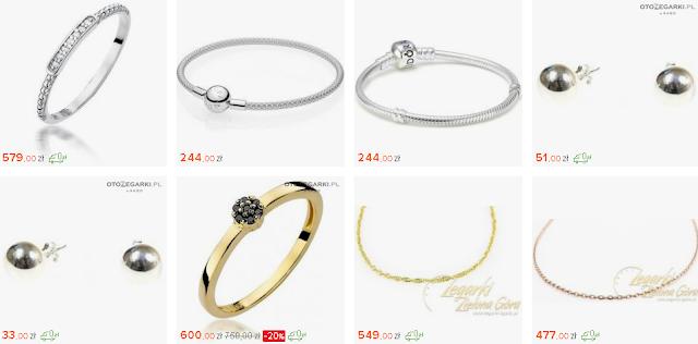 Pomysły na prezent świąteczny dla kobiety - biżuteria