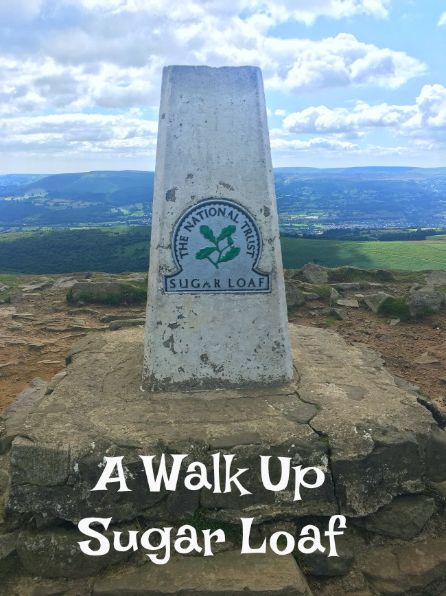 A-Walk-up-Sugarloaf-text-over-image-of-trig-point