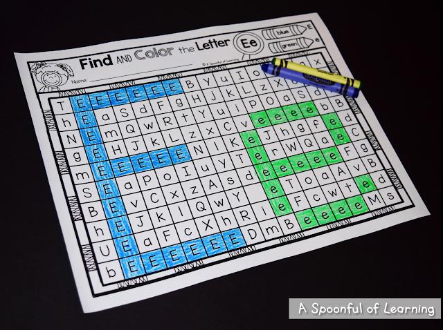 Alphabet Activities 5