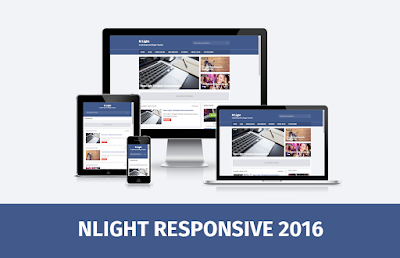 N Light Responsive Blogger Template SEO Friendly