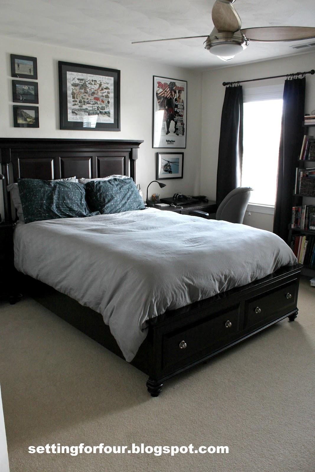 Teenage Boy's Bedroom - Setting for Four on Teenage Bed Ideas  id=44568