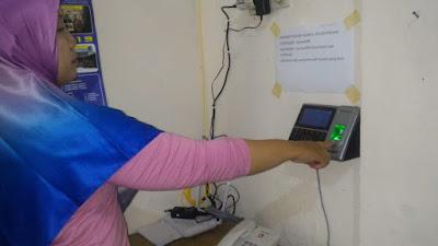 Pemkab Klaten Terapkan Absensi Elektronik
