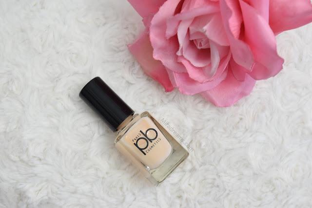 Les nouveautés PB Cosmetics, le vernis à ongles V3