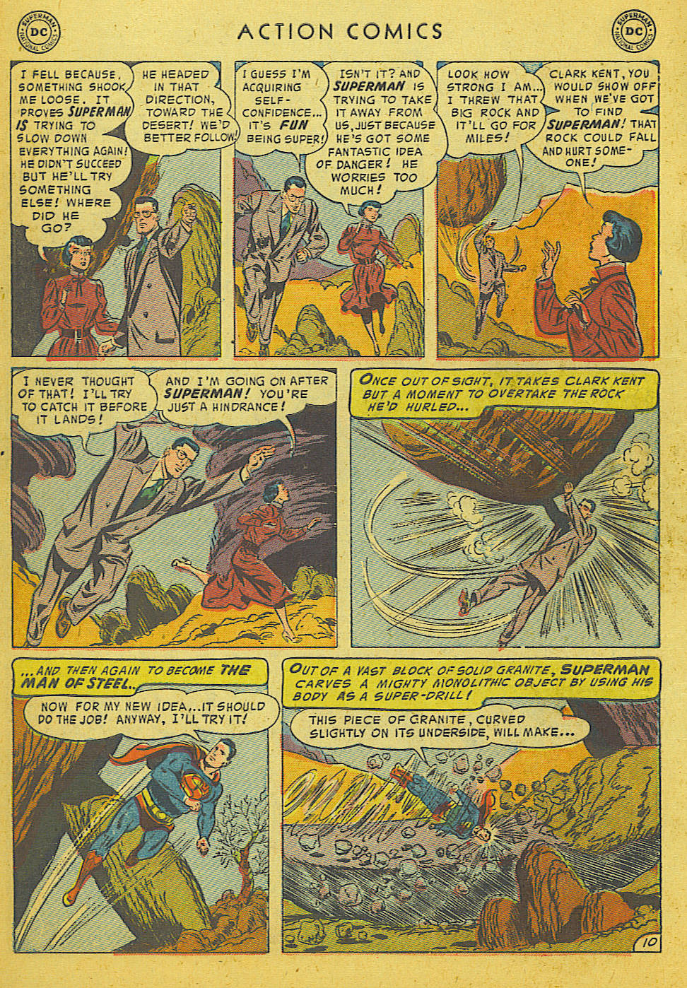 Action Comics (1938) 186 Page 11