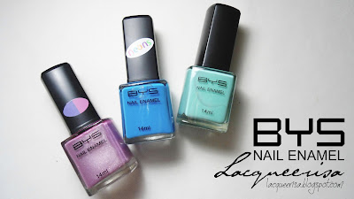 Lacqueerisa: BYS Nail Enamel