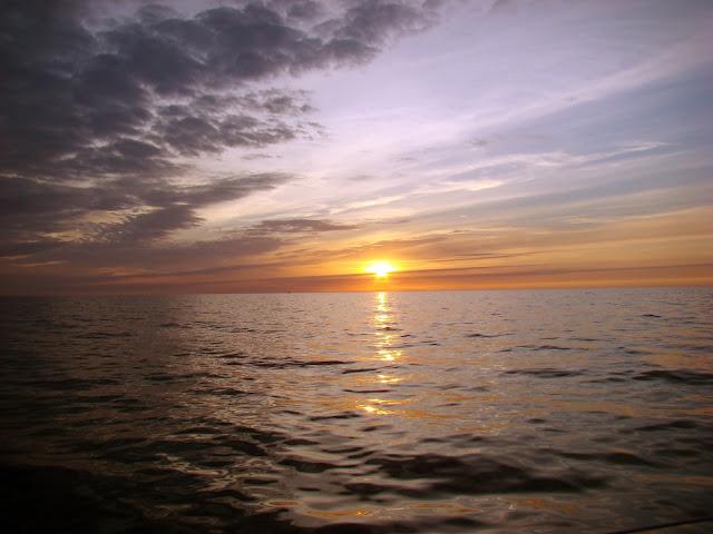 Bałtyk - zachód słońca