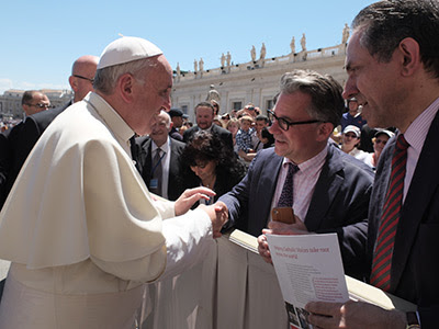 Ivereigh and the Pope