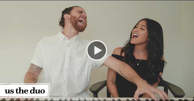 Watch This Talented Couple Performs A 3-Minute Mashup Medley Of 2016's Top Hits