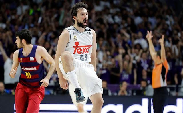 Teka, un talismán para el Madrid de basket