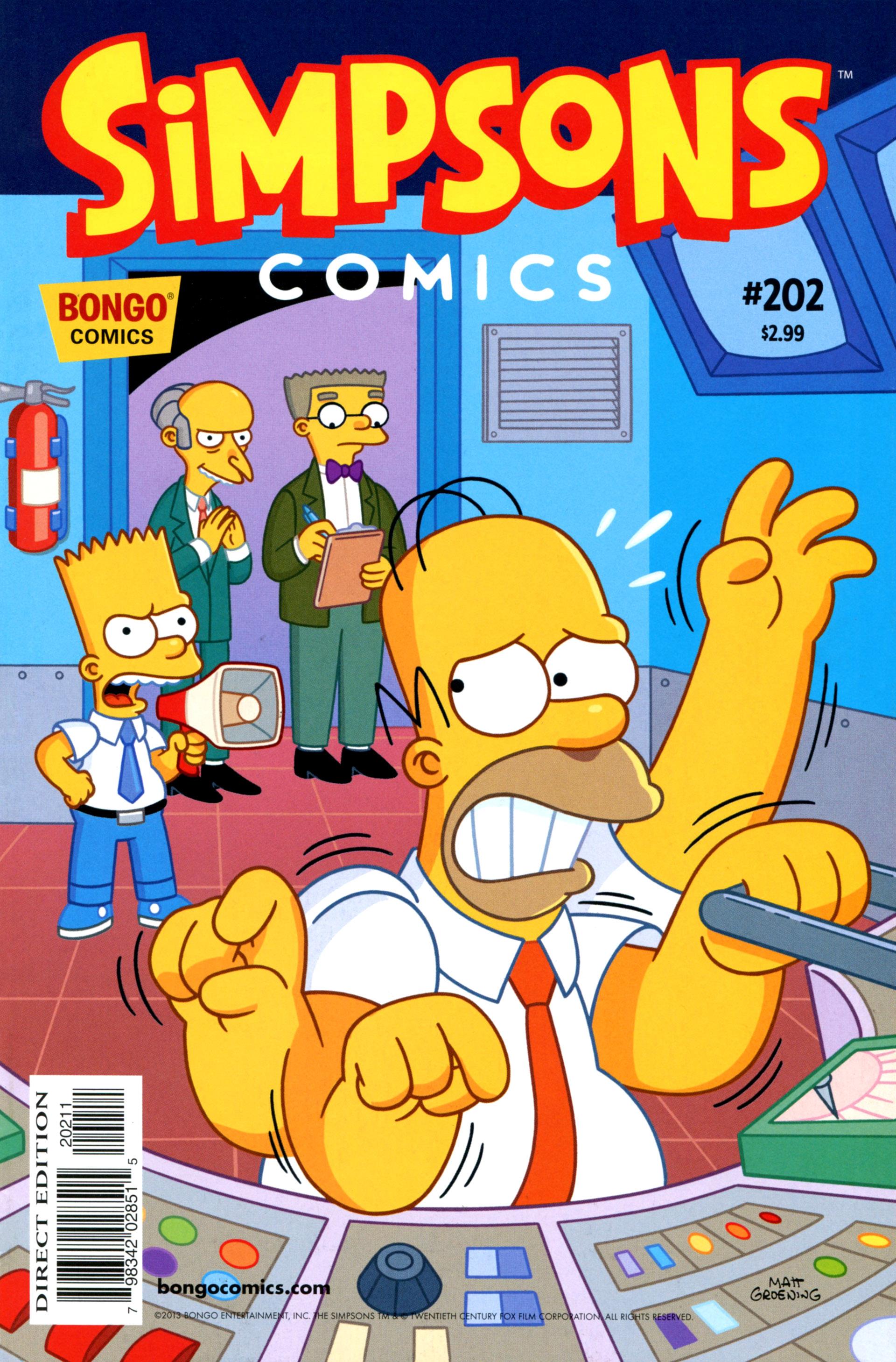 Simpsons Comics 202 Page 1