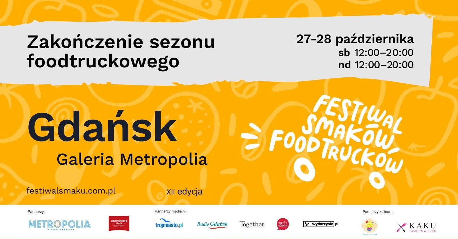Zakończenie sezonu foodtruckowego (Galeria Metropolia) KONKURS