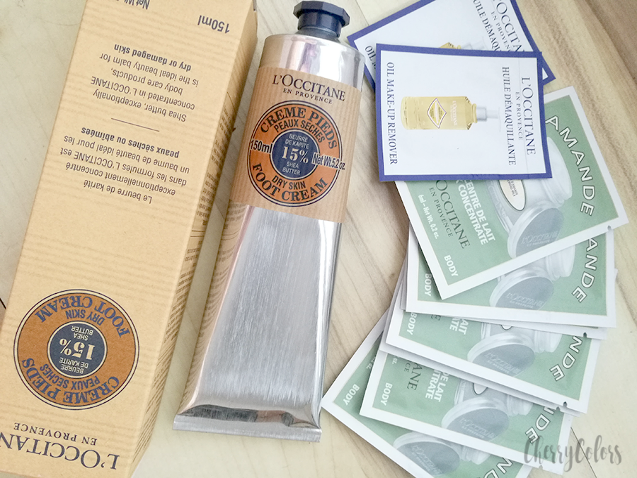 L'Occitane 15% Shea butter Foot Cream