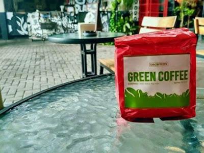 Discoffeery Kopi Hijau 100% Asli Tanpa Bahan Campuran
