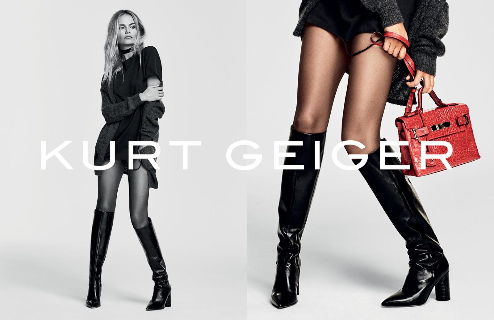 Kurt Geiger AW16 Ad Campaign