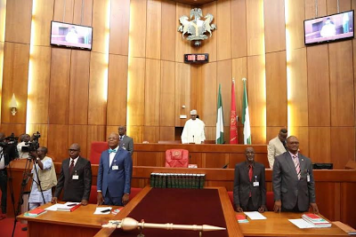 Image result for Nigerian senate scanty