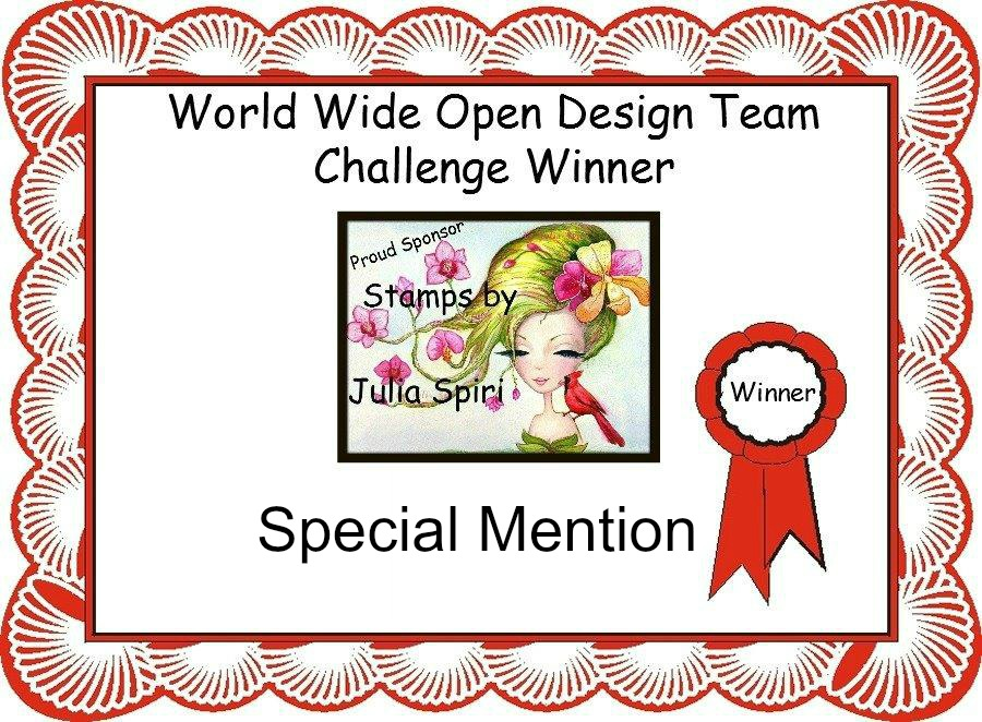 Special Mention World Wide Open DT Challenge