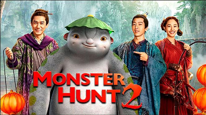 Monster Hunt 2 (2018) BRRip 720p Latino
