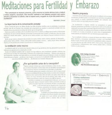 Meditaciones para Fertilidad y Embarazo