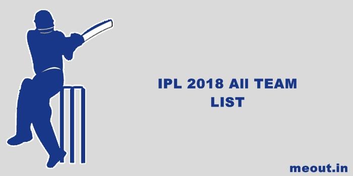 IPL 2018 Team List: जानिए आईपीएल में कितनी टीमें ले रही हैं हिस्सा