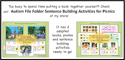 3 steps for using adapted books and play in therapy from Looks Like Language@