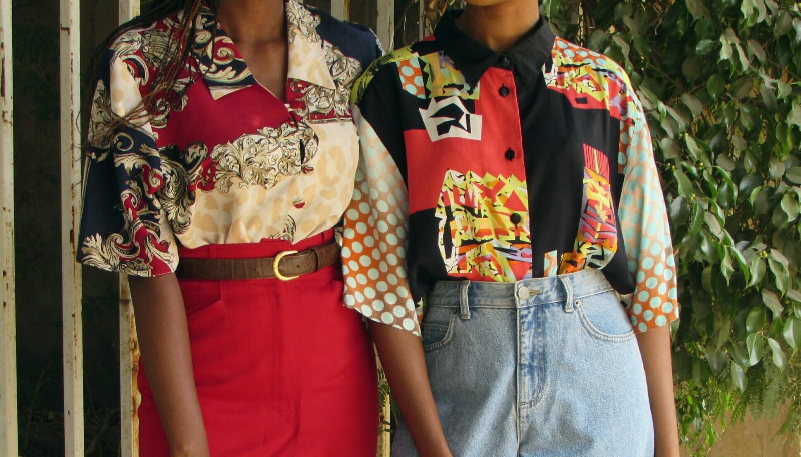 retro shirts, vintage fashion, prints