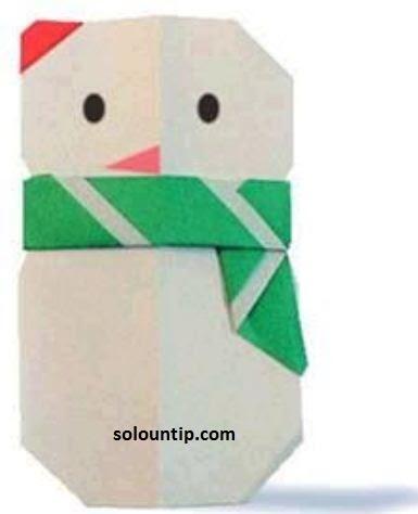 Manualidades en papel para ni os - Manualidades de navidad para ninos paso a paso ...